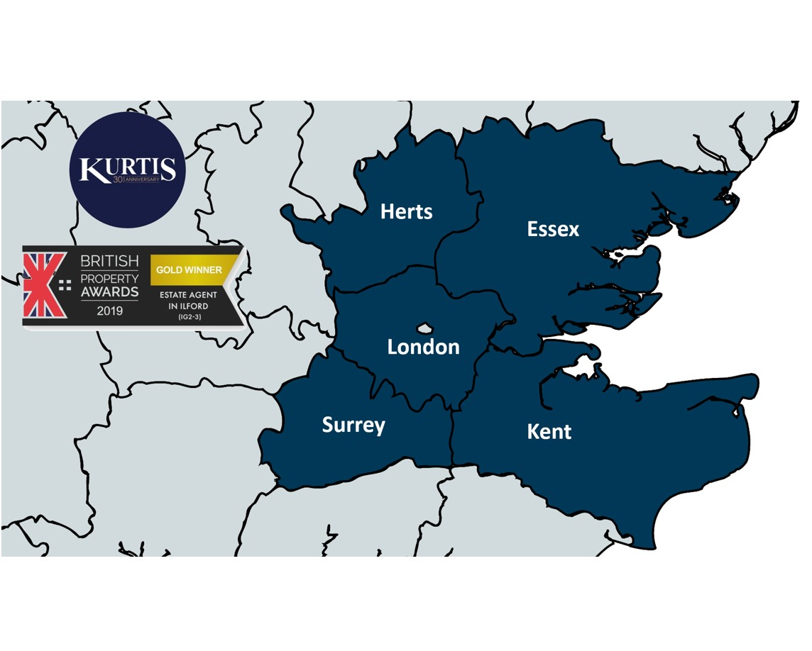 Rent Guarantee Scheme Kurtis Property areas covered London, Essex, Kent, Surrey and Hertfordshire