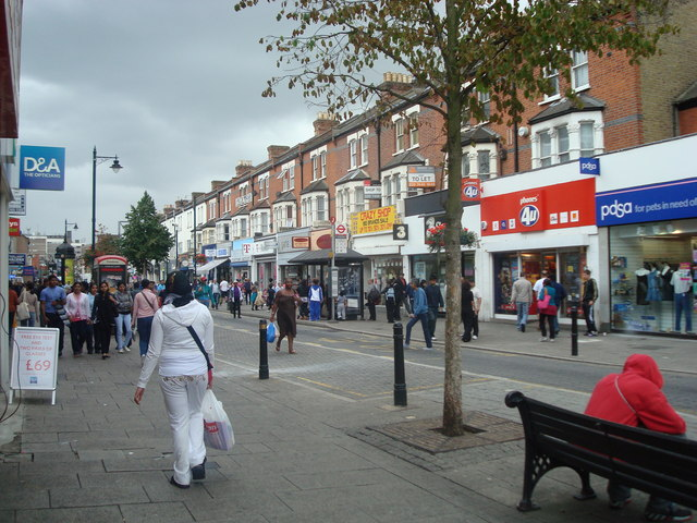 East Ham High Street Kurtis